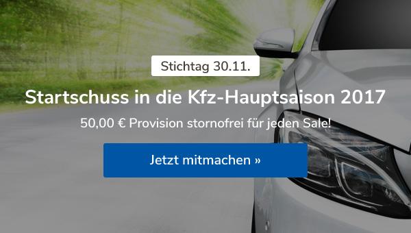 Startschuss in die Kfz-Hauptsaison 2017